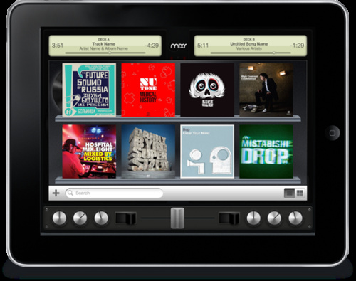 Mixr on the iPad