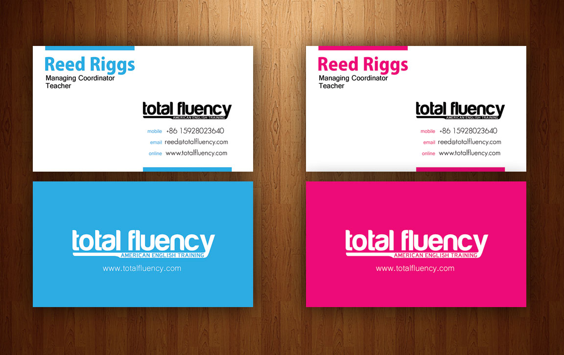 Total Fluency Business Cards