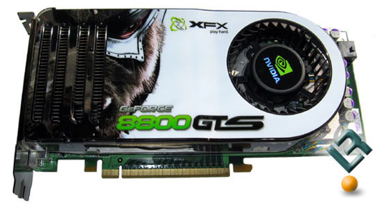 Old video card, 8800GTS