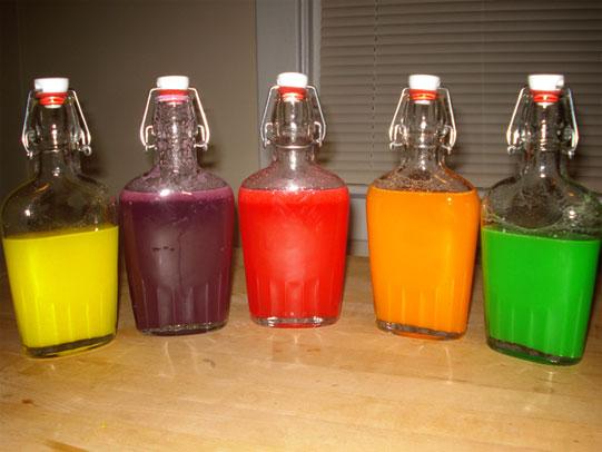 Skittles flavored vodka