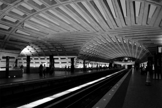 Washington DC subway