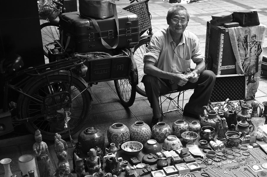 Antiques Vendor