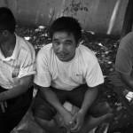 Xinjiang Men Resting