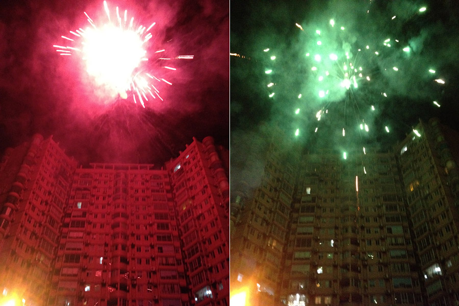Chengdu 4th of July Fireworks