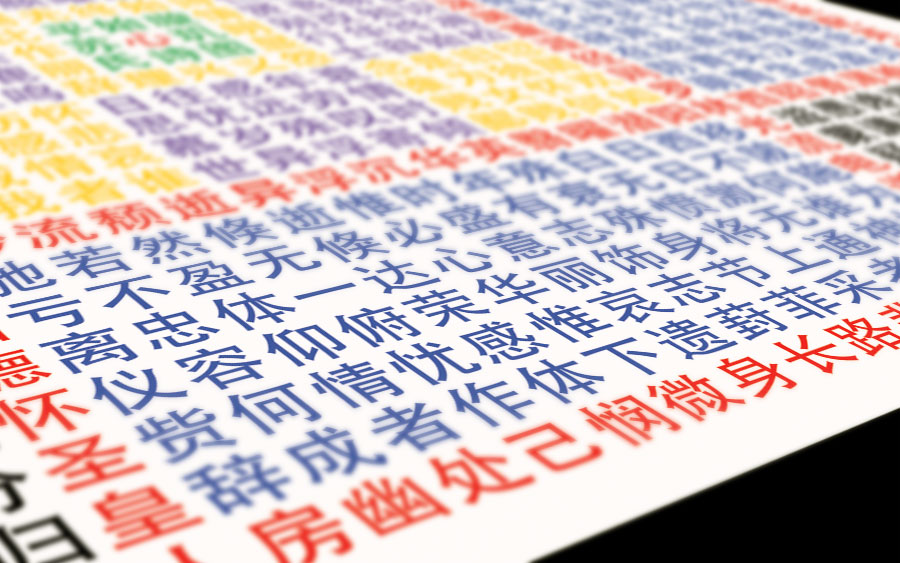 Suhui Palindromes Poster