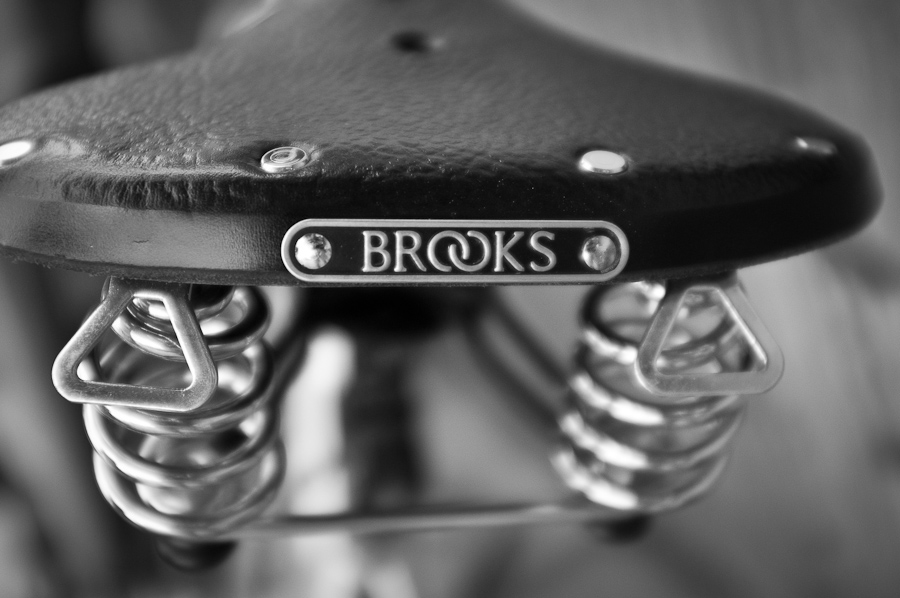 Brooks saddle Chengdu