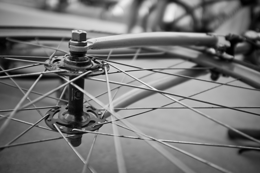 Natooke fixed gear spokes