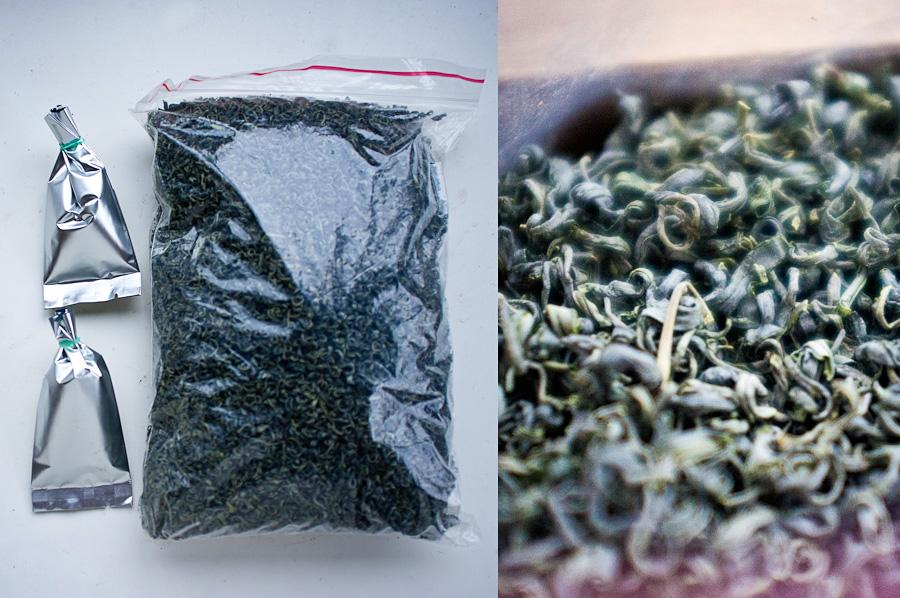 Sichuan green teas