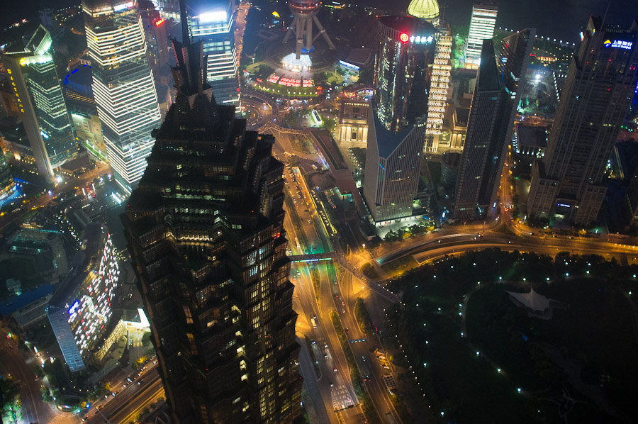 Shaghai Skyscraper View