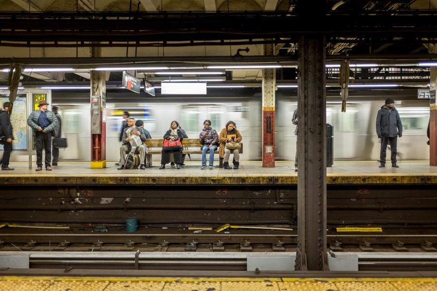 Brooklyn Train Platform