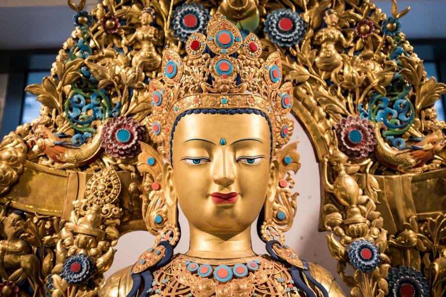 Manhattan Buddha