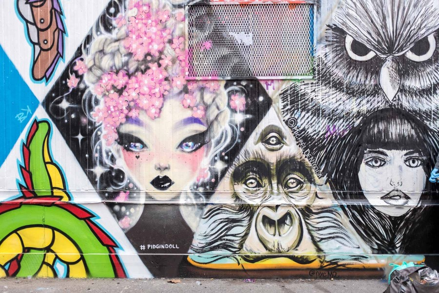 Manhattan Graffiti Wall 2