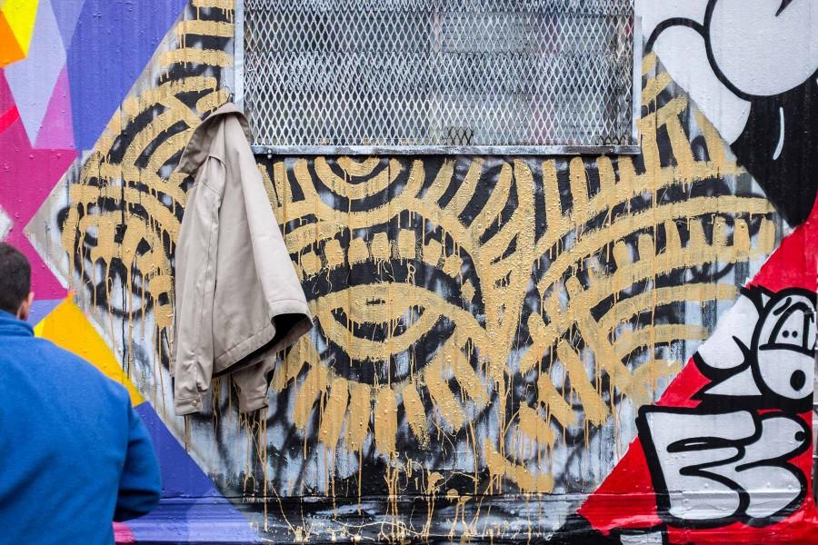 Manhattan Graffiti Wall 3