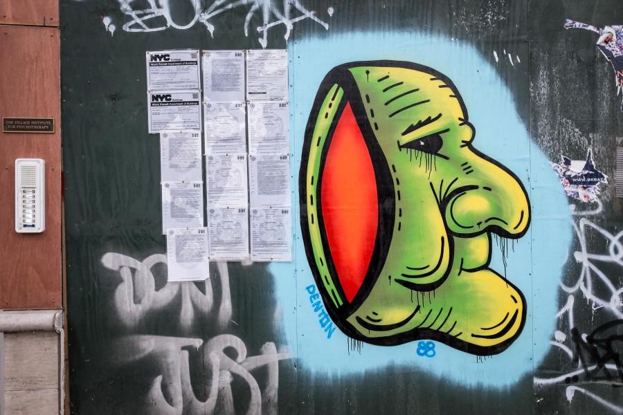 Manhattan Graffiti Wall 4