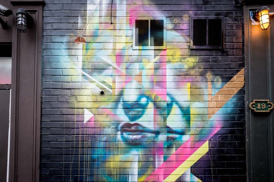 Manhattan Graffiti Wall 6