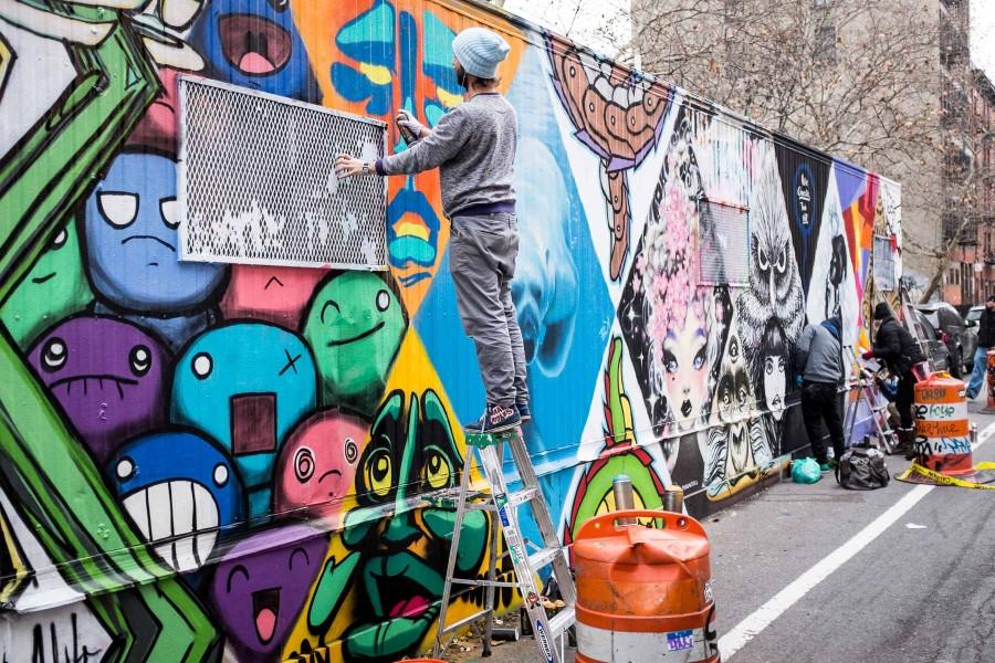Manhattan Graffiti Wall
