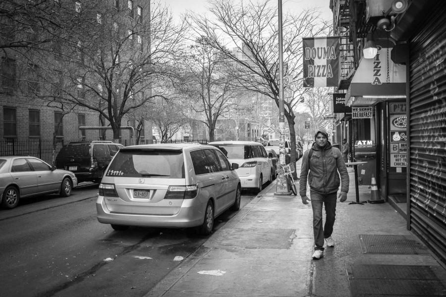 Manhattan Street Walking