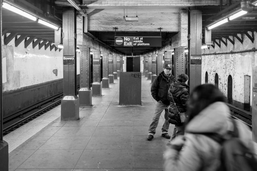 Manhattan Train Platform