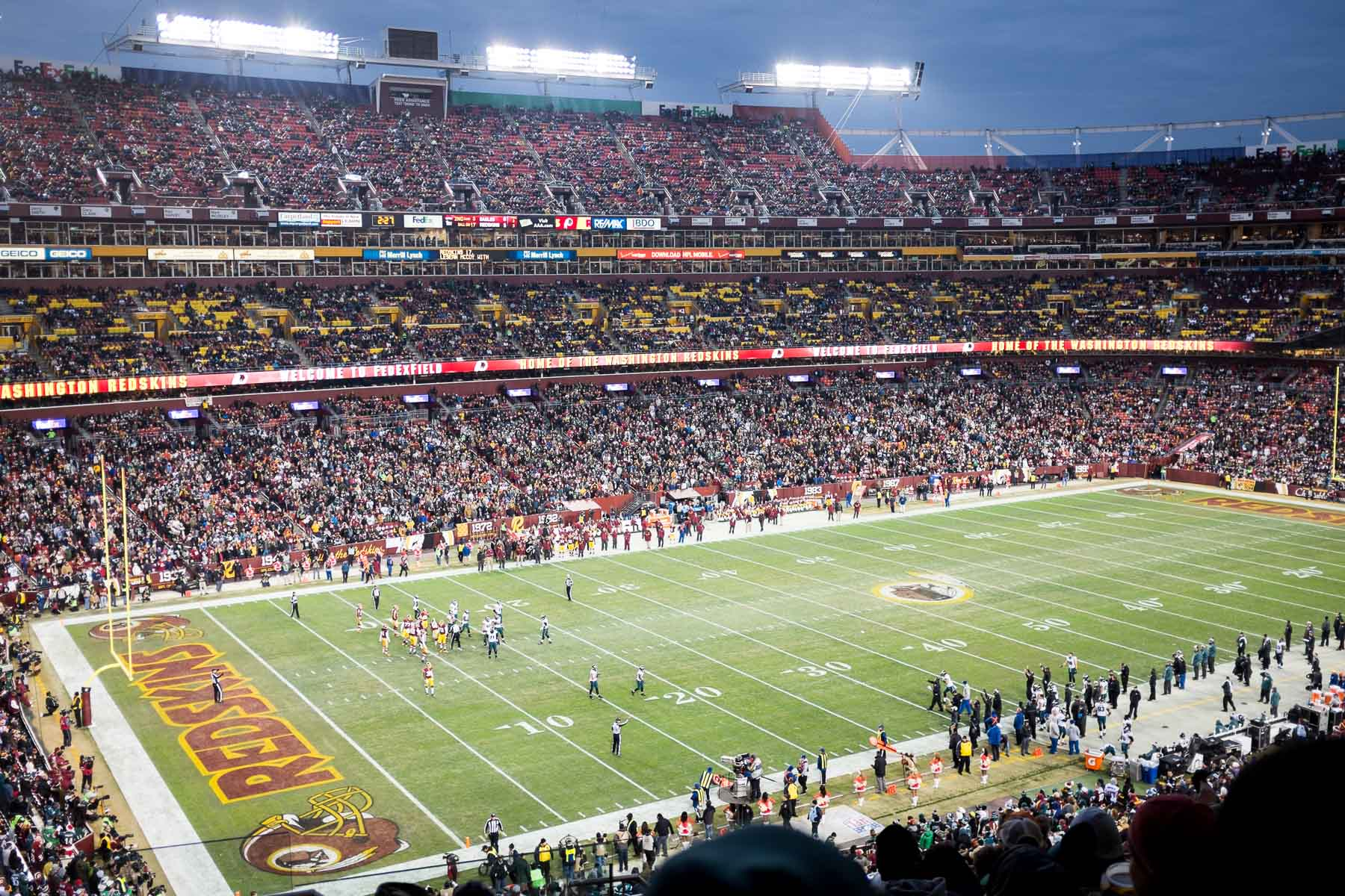 Redskins Game