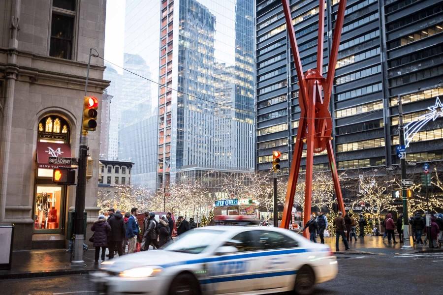 NYC Xmas NYPD