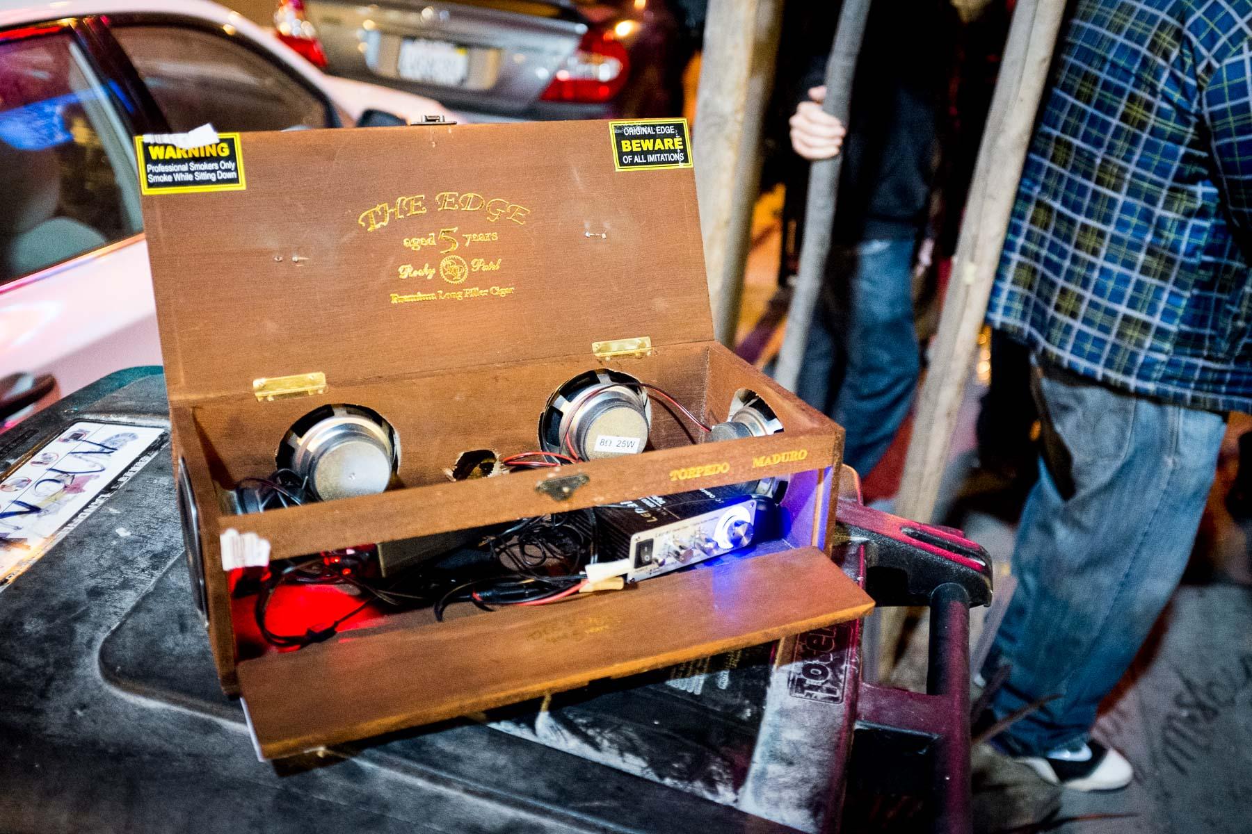 cigarbox speaker
