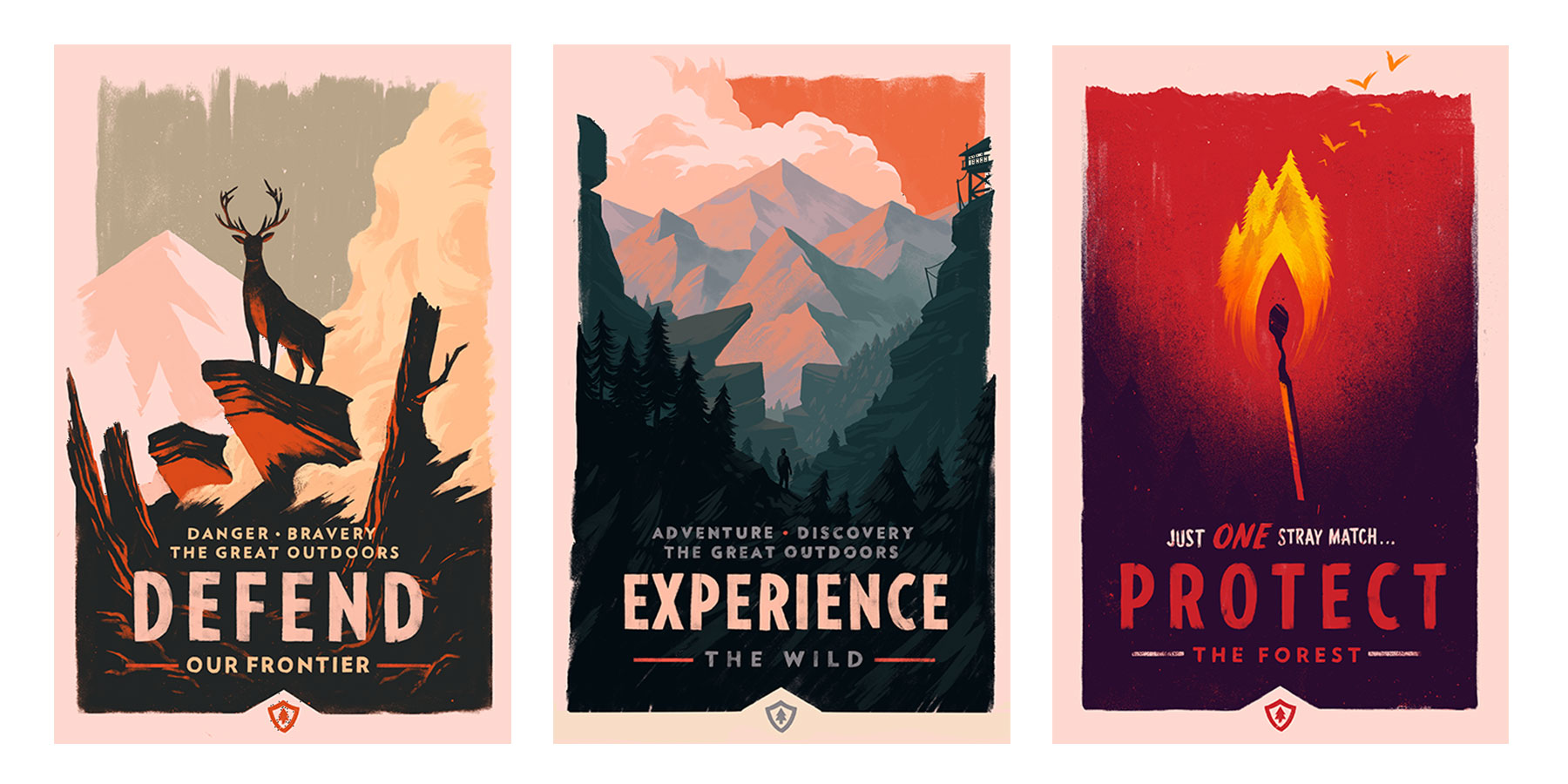 Firewatch posters