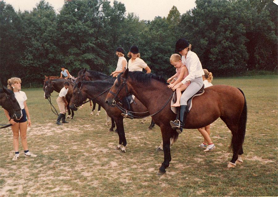 Cici Horseback