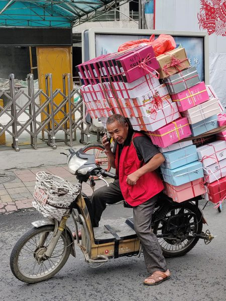 Chengdu delivery man