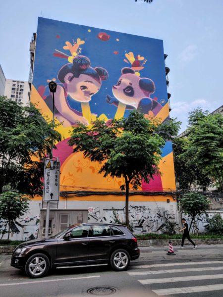 Chengdunese Street Art